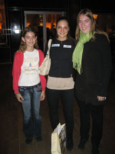 Rahel, Sarah und Andrea